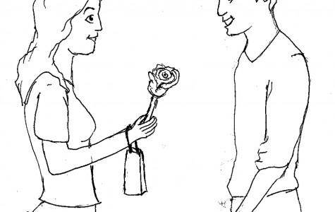 Unrealistic Valentine's standards for guys