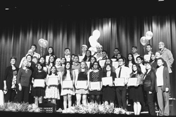 Seniors win Honors and Scholarships