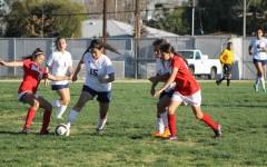 Girls soccer team falls behind