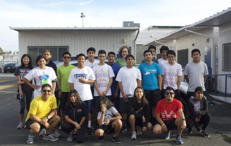 Students Run Los Angeles Preparing for the L.A. Marathon
