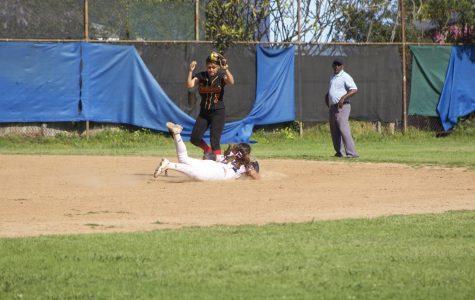 Softball Team Plays an Aggressive Game