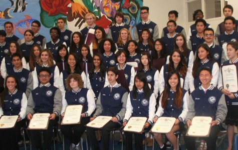 Seniors honored with Jacket of Excellence