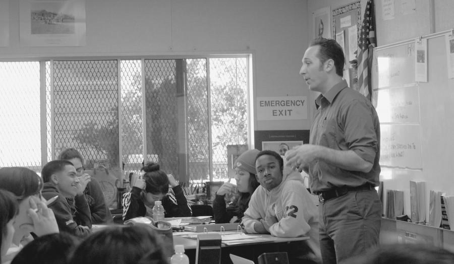 Mr. Buccieri adopts Stanford curriculum