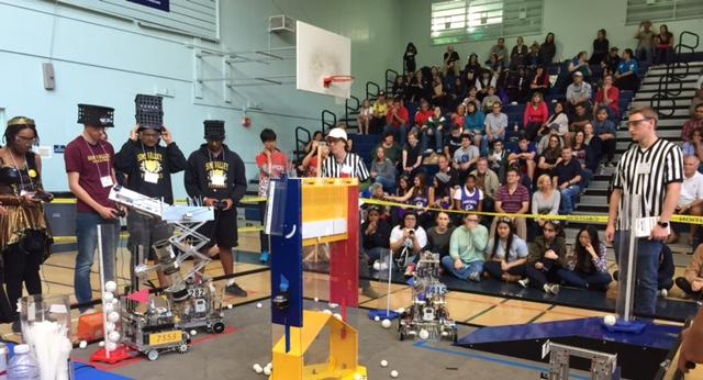 FIRST-Tech Challenge robotics competition at Venice High Jan. 2015