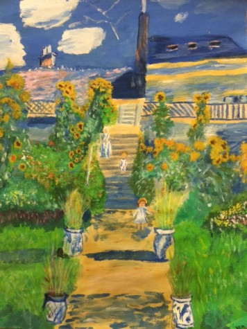 Impressionist garden by Karla Abad