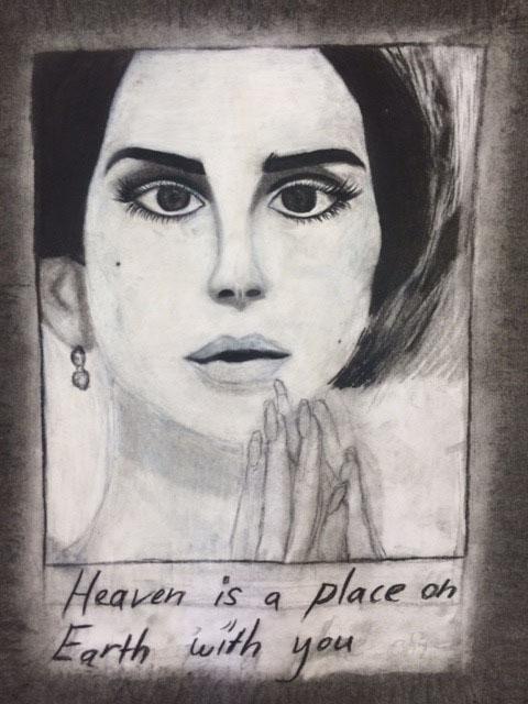 Lana Del Rey by Joanna Galvez