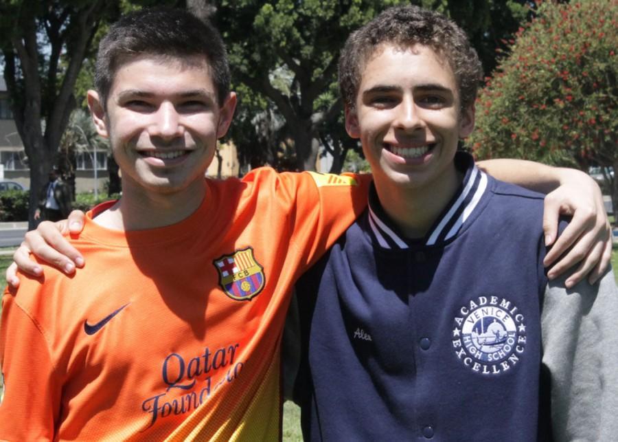 Jonathan Handler & Alex Ramsey