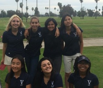 Girls golf team takes fourth place in the City Finals