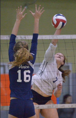 Venice Girls Volleyball Compete in City Finals