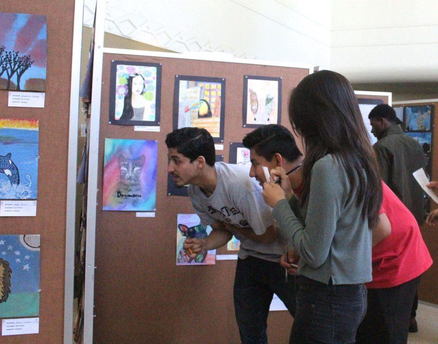 PTSA Art Exhibit