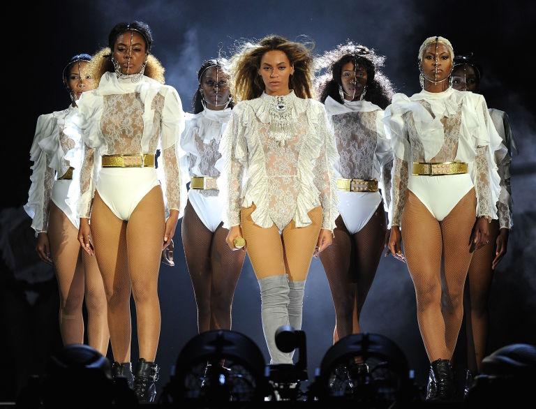 Beyoncé during Formation Tour