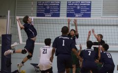 Boys' Volleyball, 5-2, Ends Season In Close Match Against Taft