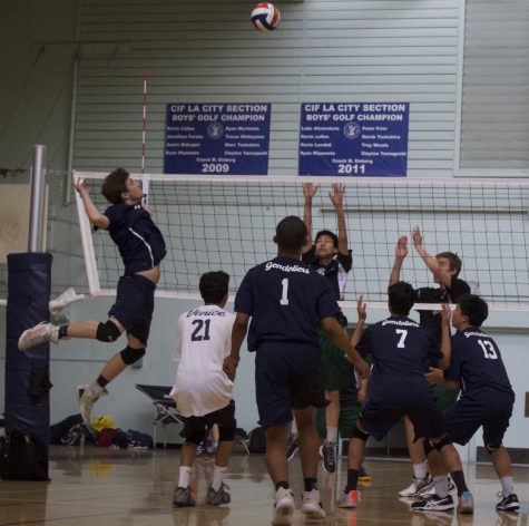 Boys Volleyball, 5-2, Ends Season In Close Match Against Taft