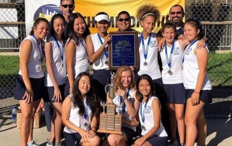 Girls Tennis Wins City Championship