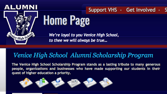 Venice High Alumni Association Scholarships are open to Venice seniors.