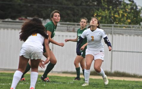 Girls Soccer Team Hanging in There