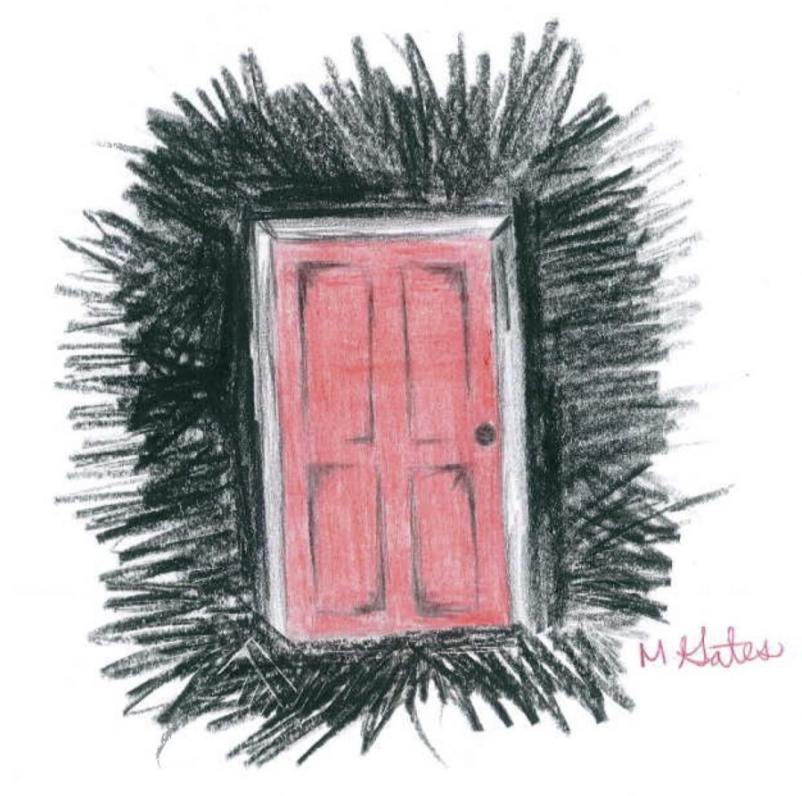 The Red Door from the new Insidious movie titled Insidious: The Last Key