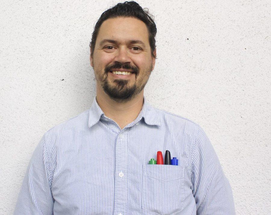 New AP Physics teacher, Mr. Josh Alexander.