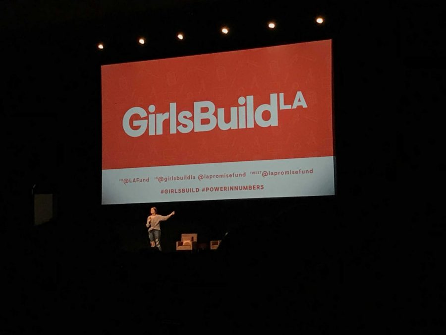 Speaker at Girls Build LA