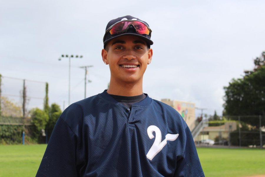 Jashia Morrissey, #3 on Varsity Baseball