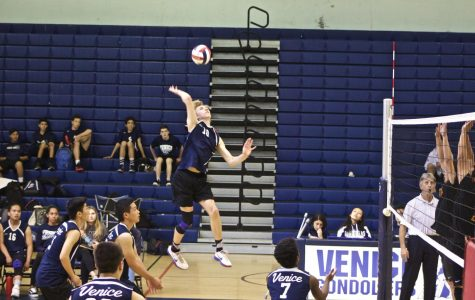 Boys Volleyball Team Spikes Their Way to Playoffs