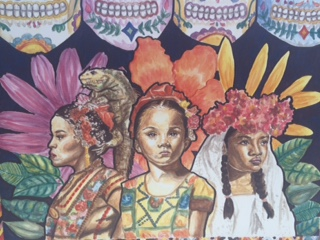Oaxacan Girls by Janna Rae Nieto won for first place.