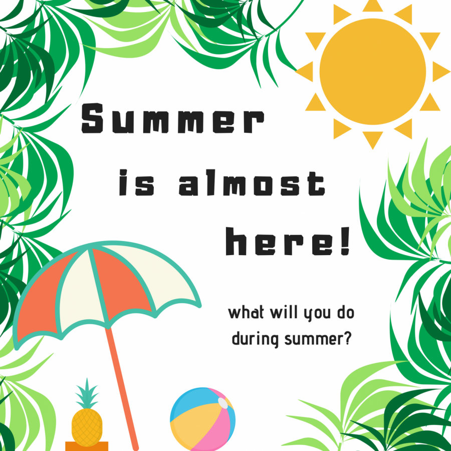 Question Man: What Are Your Summer Plans?