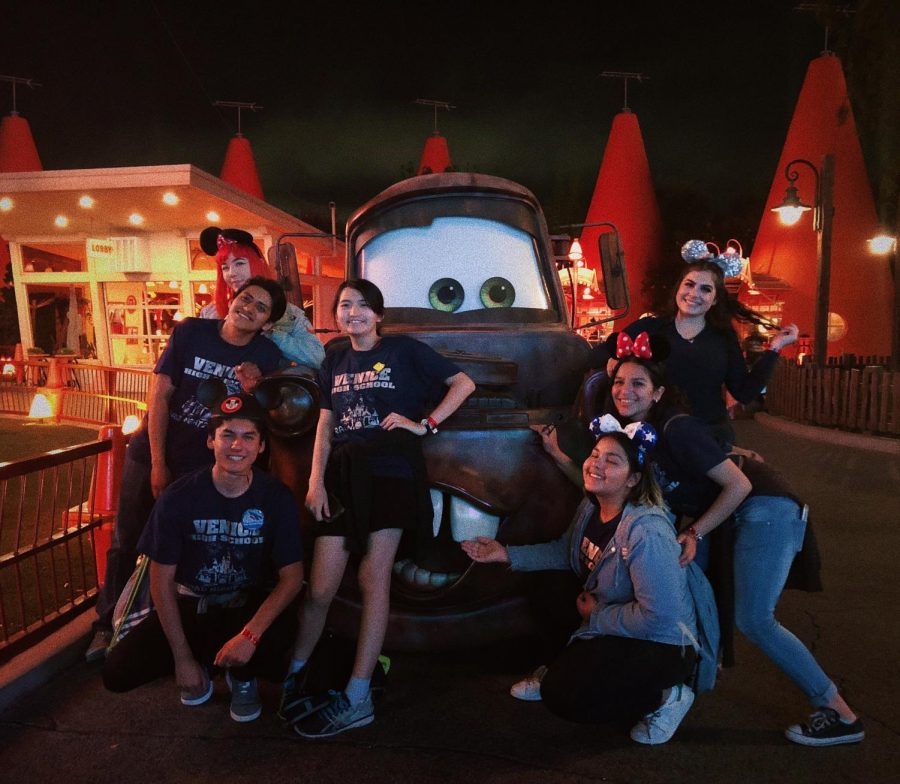 Seniors enjoying themselves with Mator at the 2018 Grad Nite