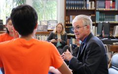 State Superintendent Visits Venice High School
