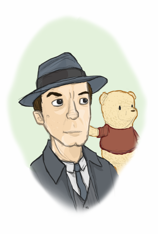 A+business+man+and+his+bear.
