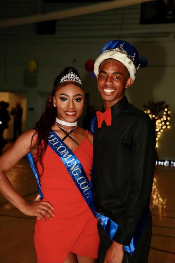 Homecoming King and Queen.