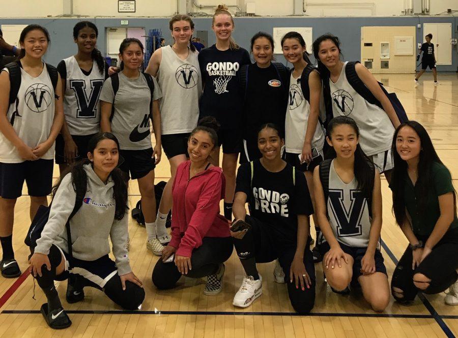 The Venice Girls Basketball team.