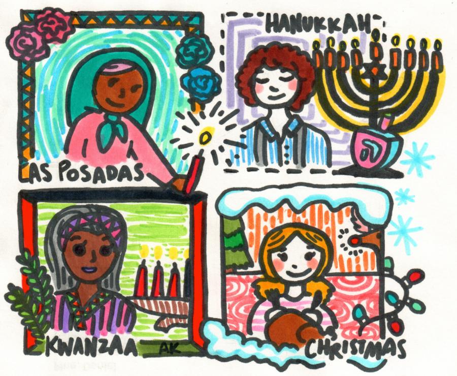 Three Holidays From Around the World