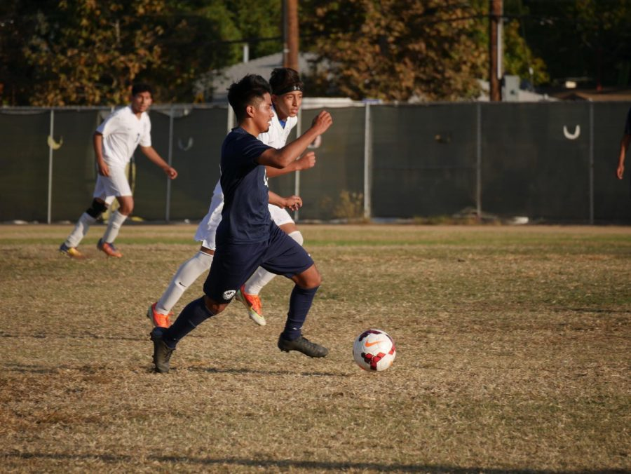 Boys Soccer Team Working To Improve