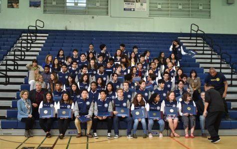 Seniors Receive Jackets of Excellence Award