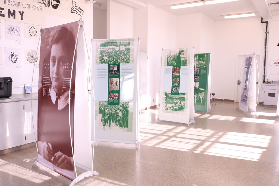 Anne Frank exhibit comes to Venice all the way from The Netherlands.