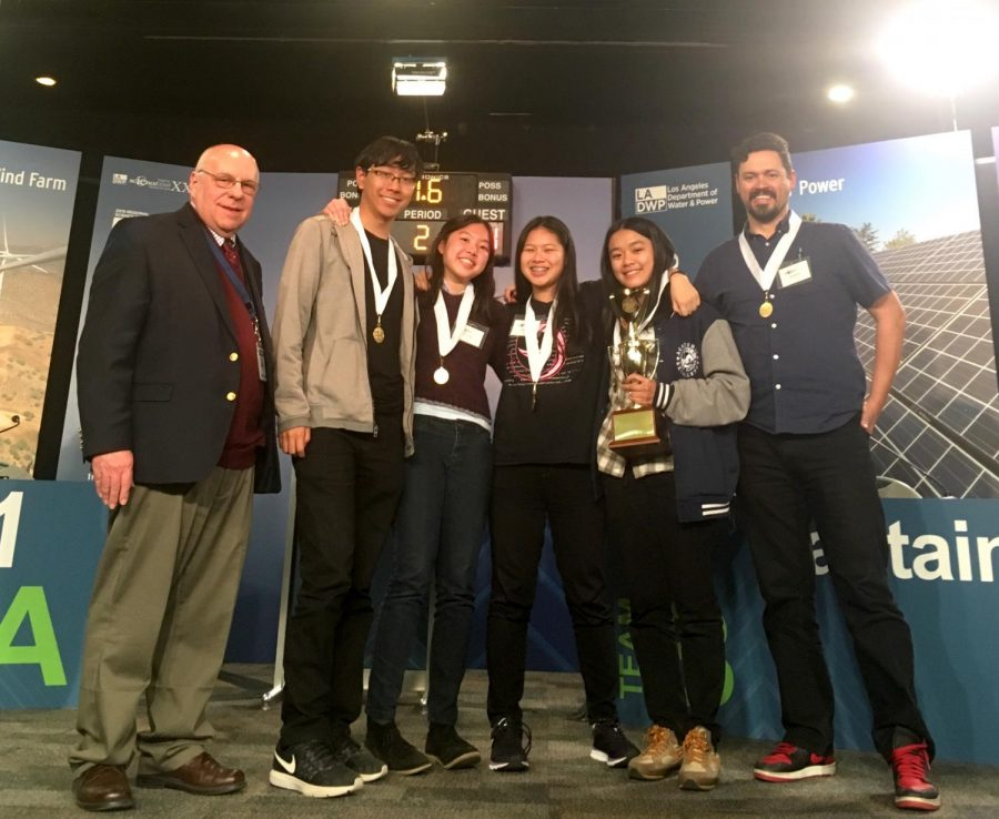 Science Bowl Team Wins Fourth Place At Regionals