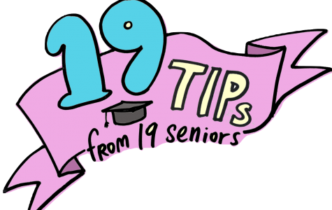 19 Tips from 2019 Seniors