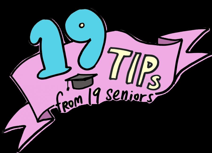 19 Tips from 2019 Seniors