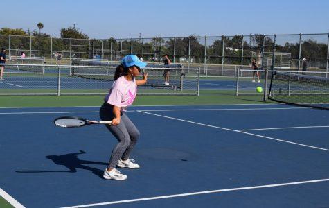 Girls' Tennis loses in Semi-Finals