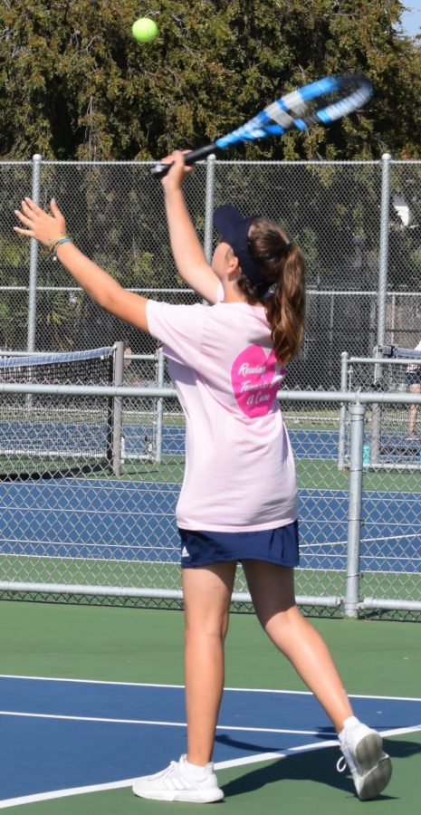 Girls' Tennis loses in Semi-Finals