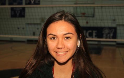 Varsity Volleyball Captain Jacelin Mckie