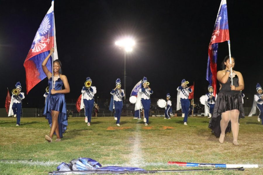 Venice High Band Marches On in their Competitive Season