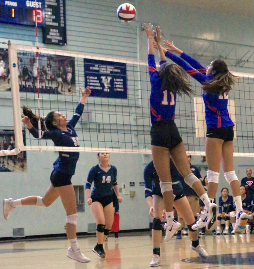 Girls' Volleyball Finishes Season Strong