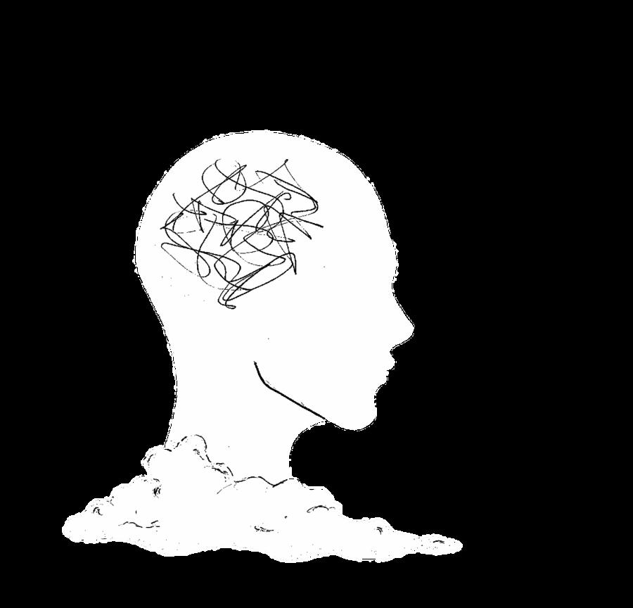 ThoughtsHeadB&W