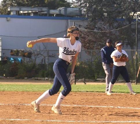 Anna Oeser, taking the field versus Hamilton