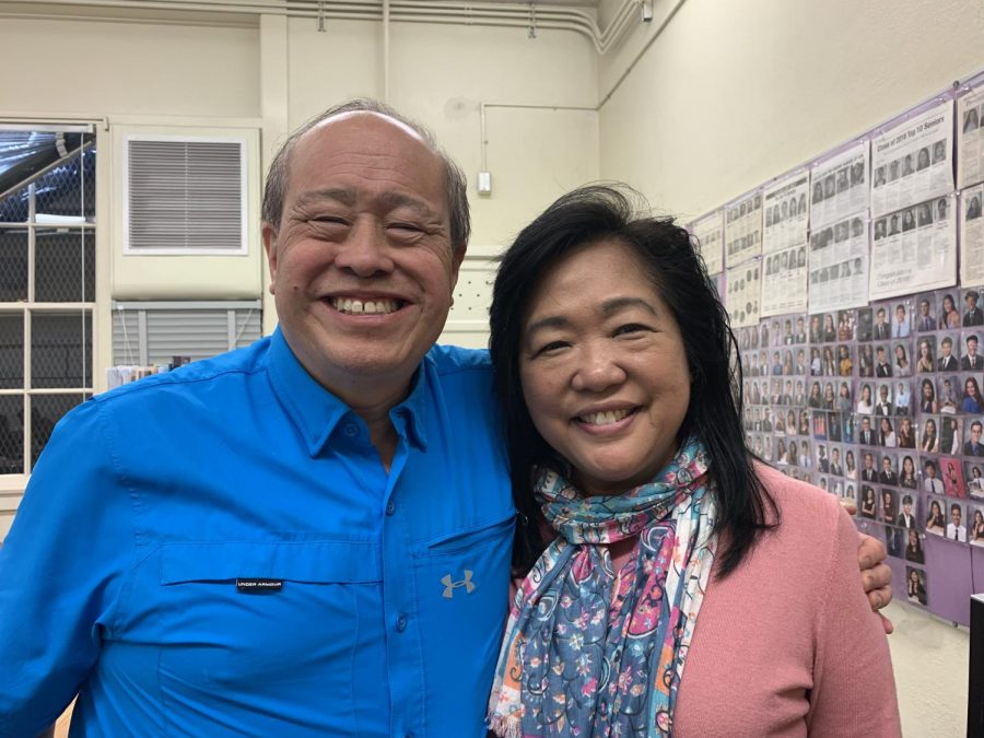 Ms. Laurie Chew and Mr. Randall Chew