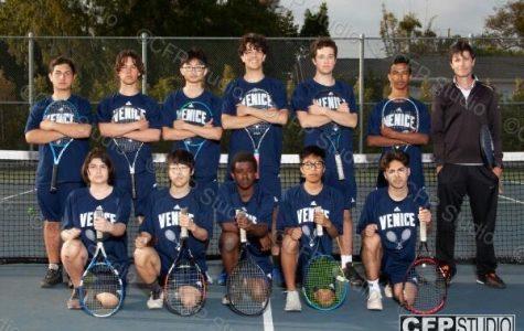 Boys Tennis Team of 2020