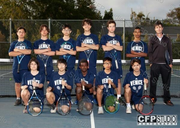 Boys Tennis Team of 2020