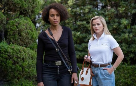 Kerry Washington and Reese Witherspoon as Mia Warren and Elena Richardson in the Hulu limited series